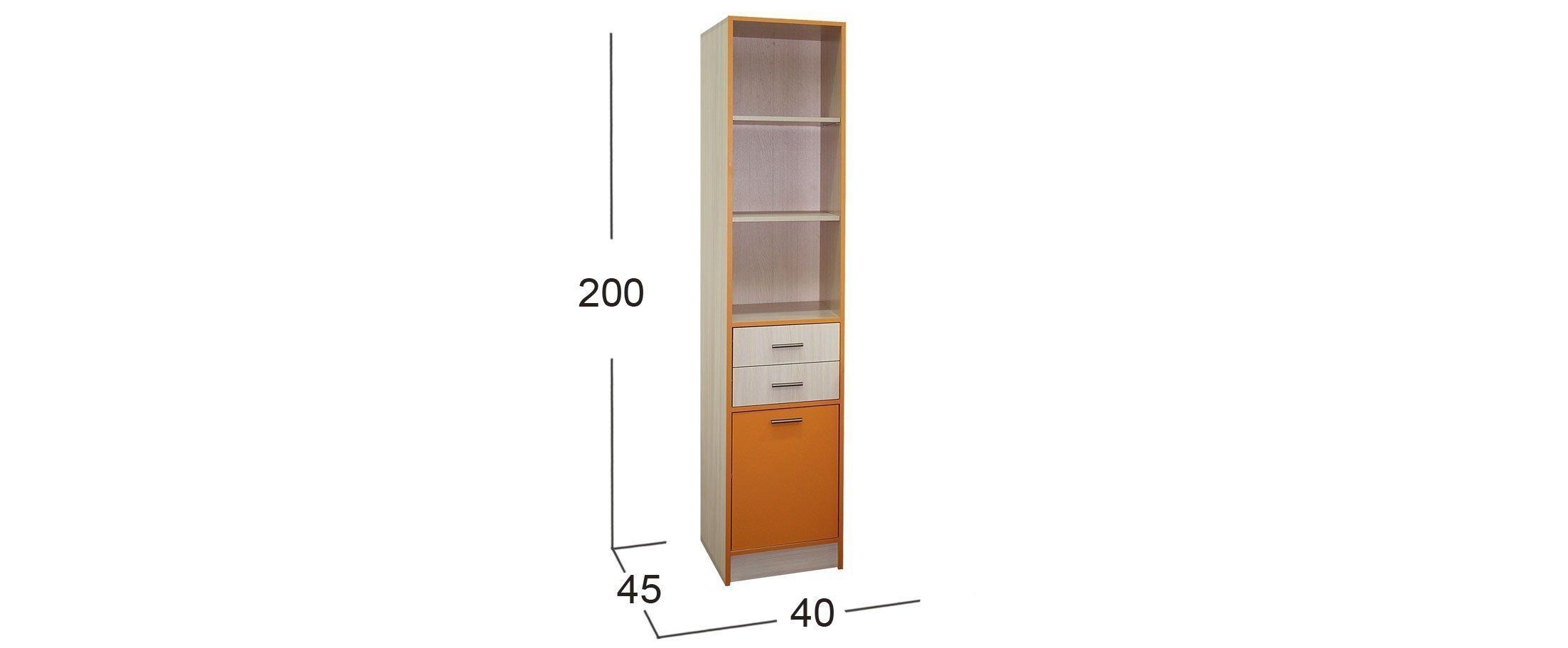Шкаф для книг Скейт-3 Модель 507